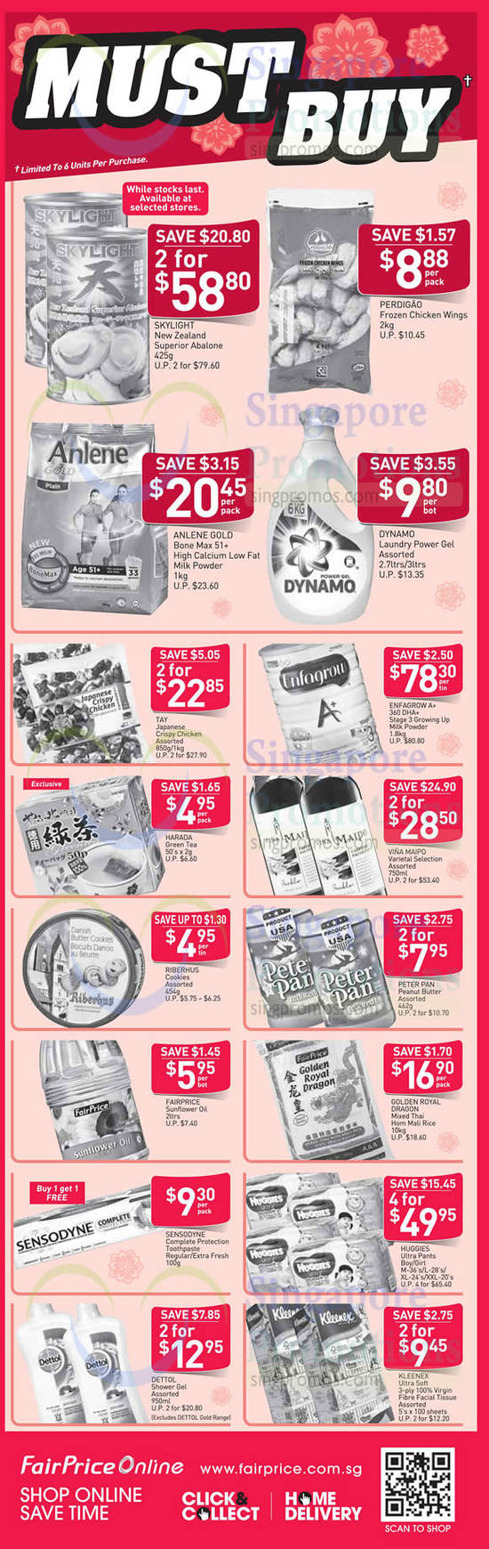 Fairprice MustBuy Deals 4 Feb 2016