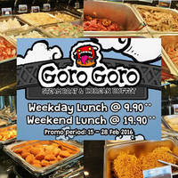Read more about GoroGoro fr $9.90++ Steamboat & Korean Buffet Lunch Promo 15 - 28 Feb 2016