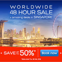 Read more about Hotels.Com Up To 50% 48hr Sale 17 - 18 Feb 2016