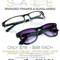 Read more about Innofire Branded Sunglasses & Frames Clearance Sale @ Suntec 10 - 14 Feb 2016