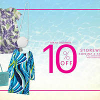 Read more about Isetan 10% Off Storewide For All Customers 4 - 6 Mar 2016