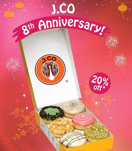 J.CO Donuts Coffee 7 Feb 2016