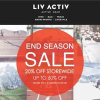 Read more about Liv Activ End Season Sale 26 Feb - 6 Mar 2016