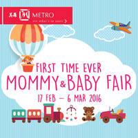 Read more about Metro Mommy & Baby Fair @ Centrepoint 17 Feb - 6 Mar 2016