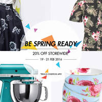 Read more about Metro 20% Off Storewide Promotion 19 - 21 Feb 2016