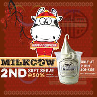 Read more about Milkcow 50% Off 2nd Soft Serve @ IMM 5 - 14 Feb 2016
