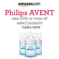 Philips 32% Off AVENT Classic Plus Bottles Promo 13 - 29 Feb 2016