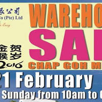 Phoon Huat Baking Products Warehouse Sale 20 - 21 Feb 2016