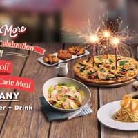 Read more about Pizza Hut 50% Off 3-Course à la carte Meal 3rd Anniversary Celebration Promo 17 - 26 Feb 2016