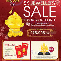 Read more about SK Jewellery Fair @ Takashimaya Department Store 4 - 16 Feb 2016