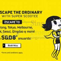 Read more about Scoot fr $8* 2hr Take Off Tuesday Promo (7am to 9am) 1 Mar 2016