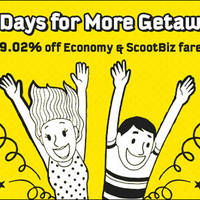 Read more about Scoot 29% Off Selected Fares Promo Code 29 Feb 2016