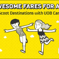 Read more about Scoot 30% Off Fares For UOB Cardmembers 18 - 21 Feb 2016