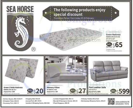 Seahorse Sofa Promotion. Sea Horse 30 To 50 OFF Promo Offers 24 29 Feb 2016