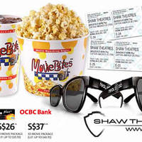 Read more about Shaw Theatres $1 Off & Special 2D/3D Movie Packages For OCBC Cardmembers 1 Feb - 31 Dec 2016