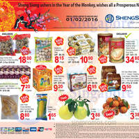 Read more about Sheng Siong 1-Day CNY Specials (Happy Family Abalone, Ferrero Rocher, Ribena & More) 1 Feb 2016