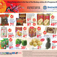 Read more about Sheng Siong 1-Day CNY Specials (Happy Family Abalone, Ferrero Rocher, F&N, Milo & More) 2 Feb 2016