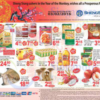 Read more about Sheng Siong 1-Day CNY Specials (New Moon Pacific Clams, Pokka Green Tea & More) 3 Feb 2016