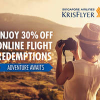 Read more about Singapore Airlines 30% Off KrisFlyer Miles Redemption 3 - 14 Feb 2016