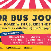 Singapore Bus Carnival (Free Admission) @ Ngee Ann City 11 - 13 Mar 2016