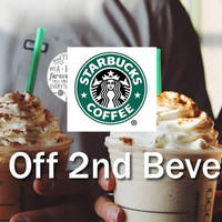 Read more about Starbucks 50% Off 2nd Beverage Promotion From 2 Feb 2016