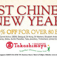 Takashimaya Post Chinese New Year 10 Feb - 6 Mar 2016