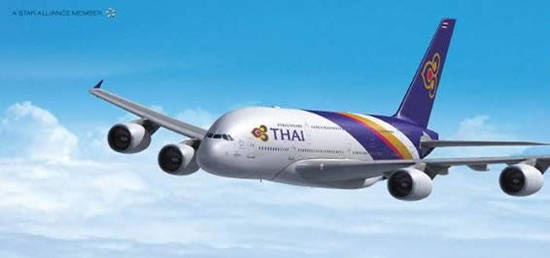 Thai Airways 15 Feb 2016