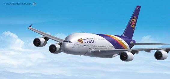 Thai Airways 15 Feb 2016