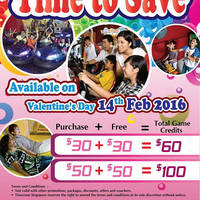 Read more about Timezone 100% Extra Double Dollar Promo 14 Feb 2016