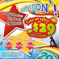 Read more about Timezone 100% Extra Double Dollar Promo 27 - 29 Feb 2016