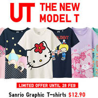 Read more about Uniqlo Sanrio Hello Kitty Limited Offers 27 - 28 Feb 2016