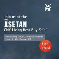 Read more about WMF Kitchenware CNY Sale @ Isetan 1 - 7 Feb 2016