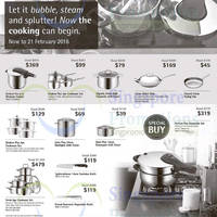 WMF Cookware Offers @ Tangs From 12 Feb 2016