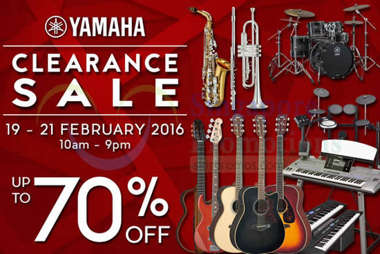 Yamaha Music Feat 11 Feb 2016