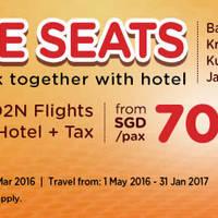 Read more about Air Asia Go 3D2N fr $70/pax (Flights + Hotel + Tax) 7 - 13 Mar 2016