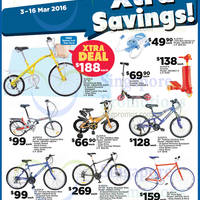 Read more about Aleoca Bicycles & Scooter Offers @ FairPrice 3 - 16 Mar 2016