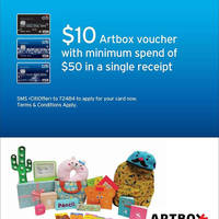 Read more about Artbox Free $10 Voucher w/ $50 Spend For Citibank Cardmembers 21 Mar - 30 Apr 2016