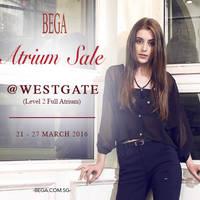 Read more about BEGA Atrium Sale @ Westgate 21 - 27 Mar 2016