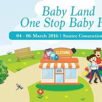 Read more about Baby Land Baby Fair @ Suntec 4 - 6 Mar 2016