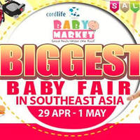Baby Market Fair will be happening at Singapore Expo from 29 April to 1 May 2016. Get a shopping experience, expert advice, professional services, product demonstrations, and more