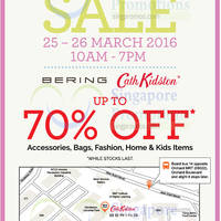Read more about Bering & Cath Kidston Warehouse Sale 25 - 26 Mar 2016
