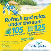 Read more about Cebu Pacific fr $105 Promo Fares 12 - 14 Mar 2016