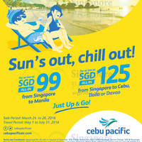 Read more about Cebu Pacific fr $99 Promo Fares 24 - 26 Mar 2016