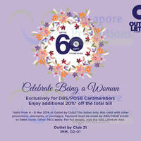 Read more about Club 21 Outlet 20% Off Storewide For Women @ IMM 4 - 8 Mar 2016