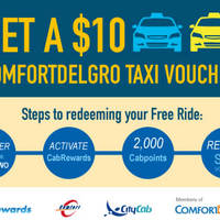 Read more about Comfort Delgro Free $10 Taxi Voucher 5 - 31 Mar 2016