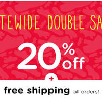 Read more about Crocs 20% Off Sitewide & Free Shipping From 9 - 11 Mar 2016