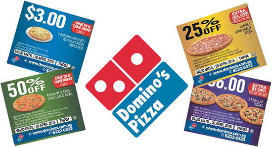 Coupons reduction domino& 39
