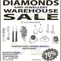Read more about Elliott & Carmen Diamonds & Jewellery Warehouse Sale 25 - 27 Mar 2016