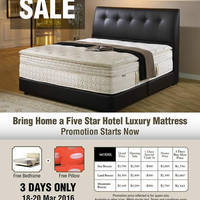 Read more about Englander Mattresses Sale 18 - 20 Mar 2016