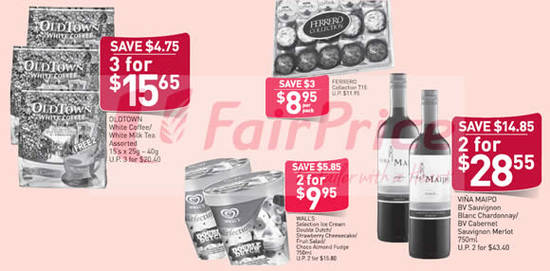 Fairprice Weekly Deals 31 Mar 2016